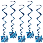 It's A Boy Whirls (5/pkg)