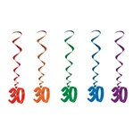 30th Whirls (5/pkg)