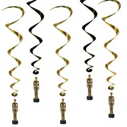 Awards Night Whirls (5/pkg)