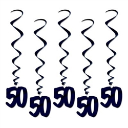 50th Whirls (5/pkg)