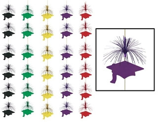 Graduation Cap Firework Stringer (Select Color)