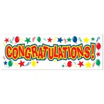 Congratulations Sign Banner