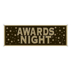 Awards Night Sign Banner