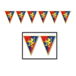 Medieval Pennant Banner, 12 ft