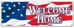 Welcome Home Sign Banner