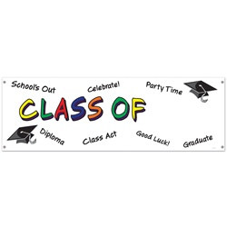 Class Of Year Sign Banner