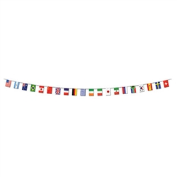 International Flag Banner (23 Feet Long)