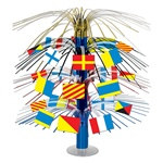 Nautical Flag Cascade Centerpiece