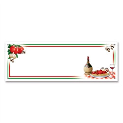 Italian Night Sign Banner