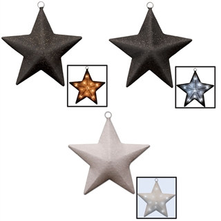 Battery Operated Light-Up Star (Choose Color)