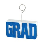 Blue GRAD Photo/Balloon Holder