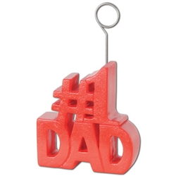 # 1 Dad Photo/Balloon Holder