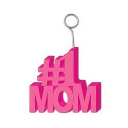 # 1 Mom Photo/Balloon Holder