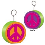 Peace Sign Photo/Balloon Holder