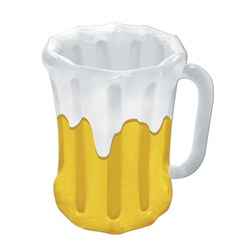 Inflatable Gold Beer Mug Cooler