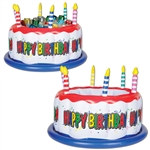 Inflatable Birthday Cake Cooler