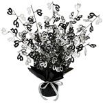 40th Gleam N Burst Centerpiece (Black & White)