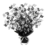 50 Black and Silver Gleam N Burst Centerpiece