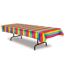 Tie-Dyed Tablecover