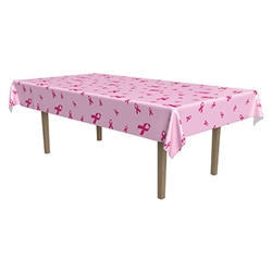 Pink Ribbon Tablecover