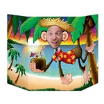 Luau Monkey Photo Prop