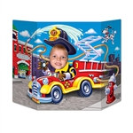 Fire Truck Photo Prop