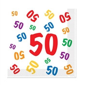 50 Luncheon Napkins (16 Per Package)