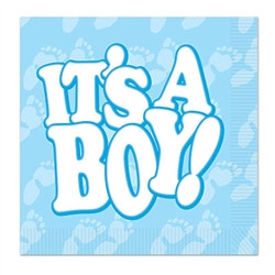 It's A Boy! Luncheon Napkins