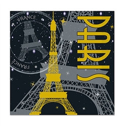 Paris Luncheon Napkins