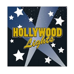 Hollywood Lights Beverage Napkins (16/pkg)