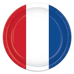Red, White & Blue Plates