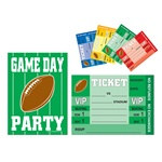 Game Day Football Invitations (8/pkg)