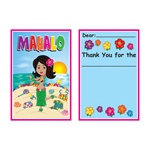Hula Baby Thank You Notes (8/pkg)