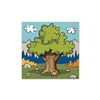 Whether you're on a weekend camping trip or a boy scout, our Woodland Friends Luncheon Napkins are the premier product. These 2-ply napkins measure approximately 13 inches and feature an outdoorsy scene.