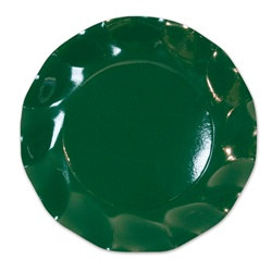 Dark Green Small Plates (10/pkg)