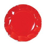 Red Small Plates (10/pkg)