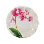 Orchid Small Plates (10/pkg)