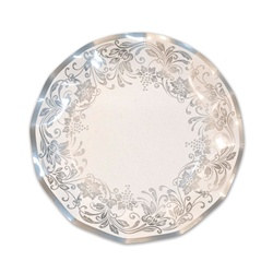 Traditional Silver Small Plates (10/pkg)