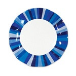 Blue Stripe Small Plates (10/pkg)