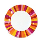 Party Stripe Small Plates (10/pkg)