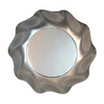 Satin Silver Medium Bowls (10/pkg)