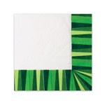Green Stripe Napkins (20/pkg)