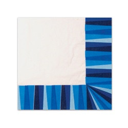 Blue Stripe Napkins (20/pkg)