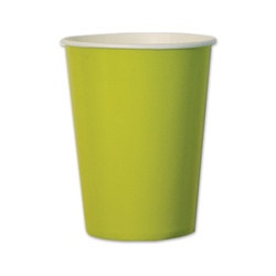 Lime Green Cups (10/pkg)
