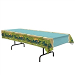 Embrace the outdoor theme and decorate the tables at your party with the Woodland Friends Table Cover.