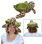Embrace the under the sea theme and wear this Plush Sea Turtle Hat to the party! The plush material gives it that extra comfort and just take a look at the hat, it's awesome! It's a one size fits most and there is one hat per package.