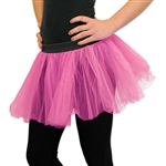 Use Dj-Party's cerise tutu to complete your ballerina outfit today! Pair this tutu with matching fairy wings to complete your fairy costume.