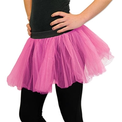 Use PartyCheap's cerise tutu to complete your ballerina outfit today! Pair this tutu with matching fairy wings to complete your fairy costume.