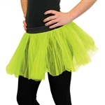 Use PartyCheap's light green tutu to complete your ballerina outfit today! Pair this tutu with matching fairy wings to complete your fairy costume.