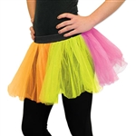 Use PartyCheap's multicolor tutu to complete your ballerina outfit today! Pair this tutu with matching fairy wings to complete your fairy costume.